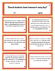 Persuasive Position Cards and Worksheet