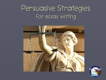 Persuasive Strategies for essay writing