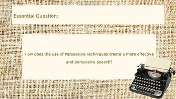 Persuasive Techniques CISM