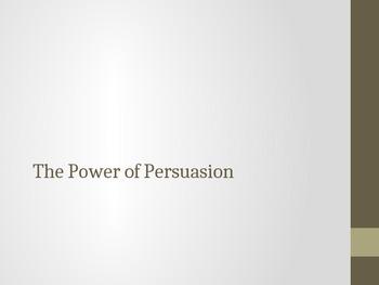 Persuasive Techniques-Connotation and Denotation