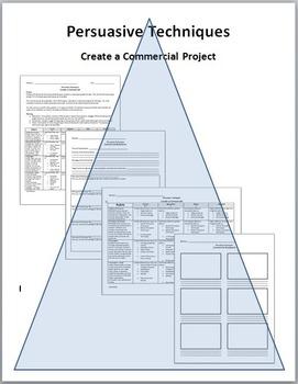 Persuasive Techniques Create a Commercial Project