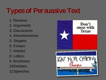 Persuasive Text Introduction