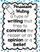 Persuasive Writing-Can you persuade your parents?