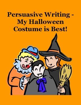 Persuasive Writing – My Halloween Costume is Best!