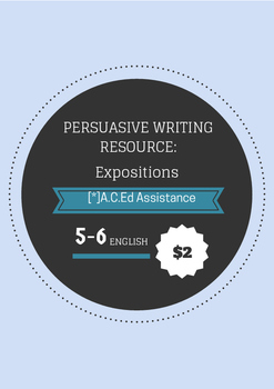 Persuasive Writing Resource