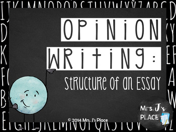 Persuasive Writing- Structure of an Essay