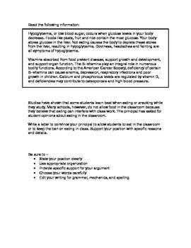 Persuasive essay topic