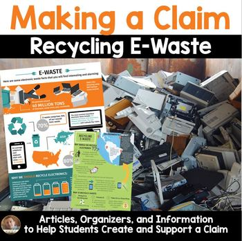 Earth Day Persuasive & Opinion Writing: Recycling E-Waste