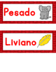 Pesado o liviano :  Sort It Out  FREEBIE