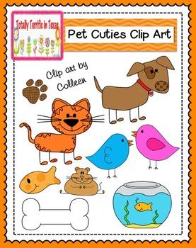 Pet Cuties Color Clip Art