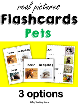 Pet Flashcards with Real Photos