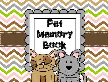 Animal / Pet Memory Book