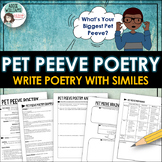 Similes - Poetry Writing Activity