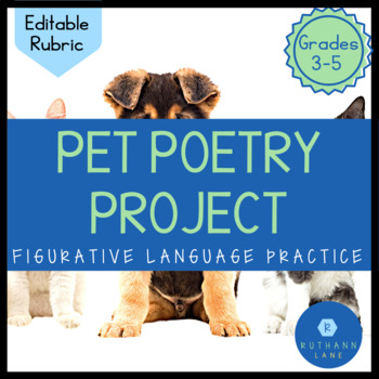 Pet Poetry Project: Editable Rubric