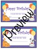 Pet-Themed Name Tags and Birthday Set