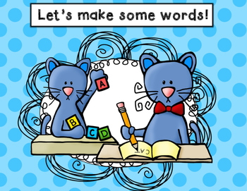 Cat Word and Writing Work