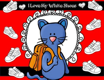 The Cat Loves White Shoes HUGE COLOUR BUNDLE  UK Spellings