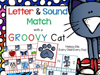 A Groovy Cat: Letter & Sound Match