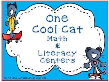 One Cool Cat Math & Literacy A Pack (CCSS)