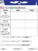 Pete the Cat Pete's Big Lunch Writing Prompts and Worksheets