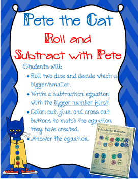 Pete the Cat: School Shoes Craftivity