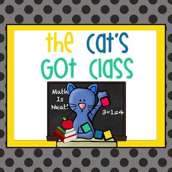 The Cat's Got Class - Math/Story Problems/Ten Frames/Addit