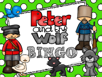 Peter And The Wolf:  BINGO GAME - PPT Edition