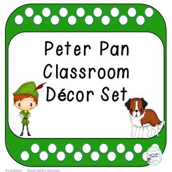 Peter Pan Classroom Decor Set