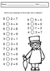 Peter Pan - Literacy and Math Worksheets