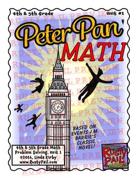 Peter Pan - Math Problem Solving – 4th & 5th Grade