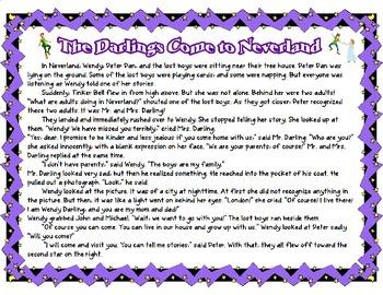 Peter Pan NYS Grade 3 Module 3A Narrative Example
