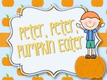 Peter Peter Pumpkin Eater: A Fall Chant for Expressive Ele