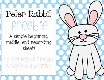 Peter Rabbit Freebie