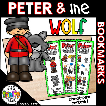 Peter and the Wolf Bookmarks