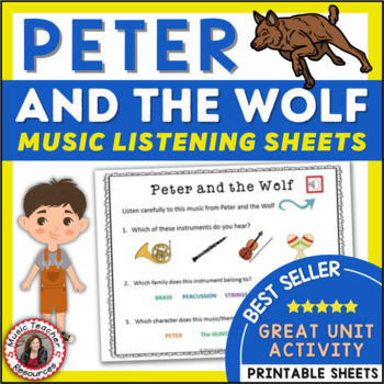 Peter and the Wolf Listening Sheets