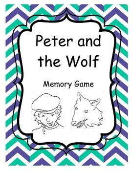 Peter and the Wolf Memory Game - 200 Followers Freebie!