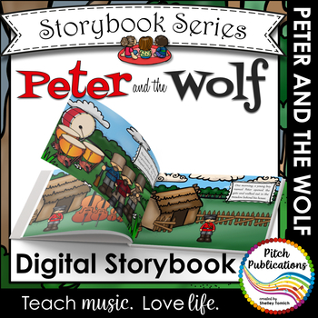 Peter and the Wolf Story Book - Storybook Powerpoint - Tel