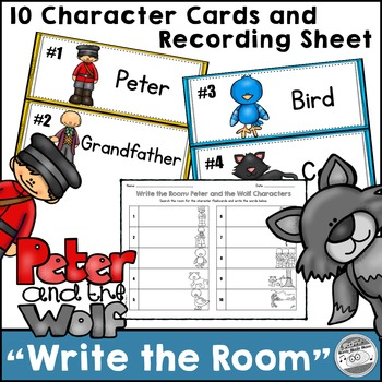 """Peter and the Wolf """"Write the Room"""""""