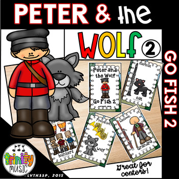 Peter and the Wolf Go Fish Game 2