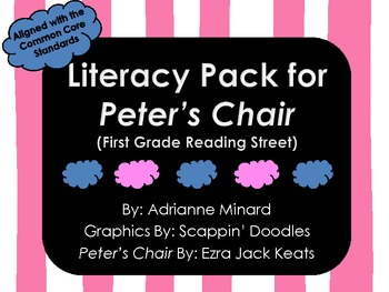UPDATED!!! Peter's Chair Literacy Pack for First Grade For
