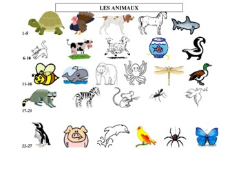 Petit Prince - Les Animaux - Learning Animals in French