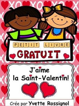 Petit livre pour La Saint-Valentin! (French, French immers