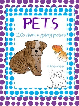 Pets 100s Chart Mystery Picture