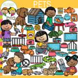 Kids Pets Clip Art