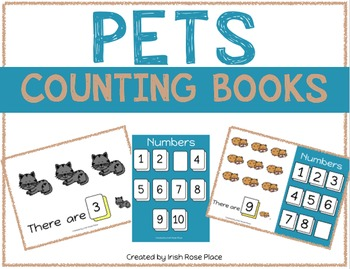 Pets Counting Books (Adapted Books)