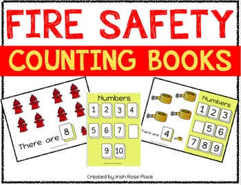 Fire Safety Counting Books (Adapted Books)