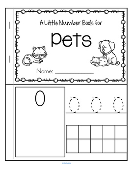Pets Little Number Book