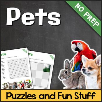 Pets (Puzzles & Fun Stuff)