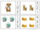 Pets Theme Count & Clip 1- 30 Task Cards