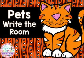 Pets Themed Write the Room *FREEBIE*
